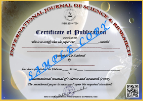 Home - International Journal of Science and Research (IJSR)